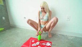 Pussy hungry cute handyman ripped Cosette Ibarra tight camel toe cunt roughly