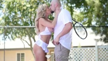 Stud tempts babe to have wild cumhole loving act